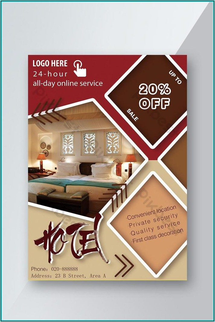 Hotel Brochure Design Templates Psd Free Download