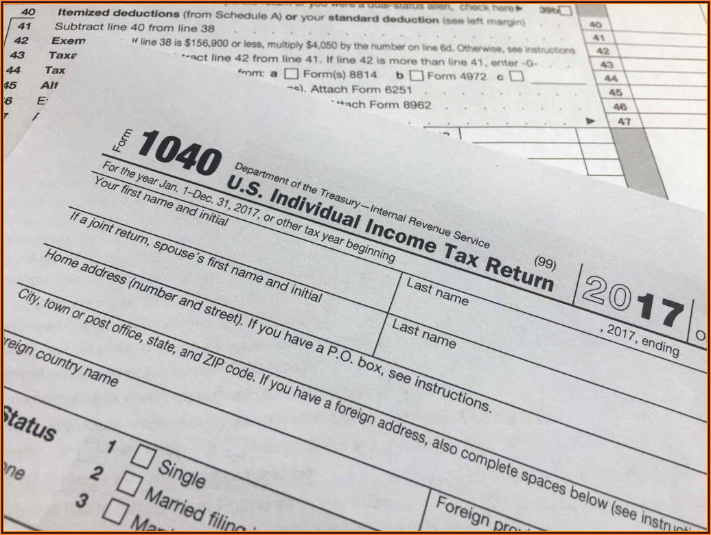 Instructions For Federal Tax Form 1040ez
