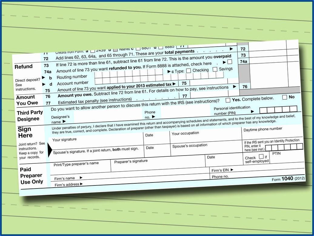 Irs 1040ez 2015 Tax Form