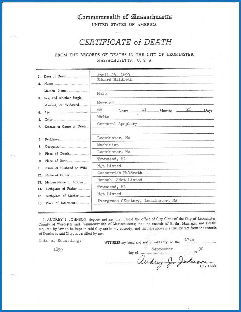 Kentucky Birth Certificate Request Form