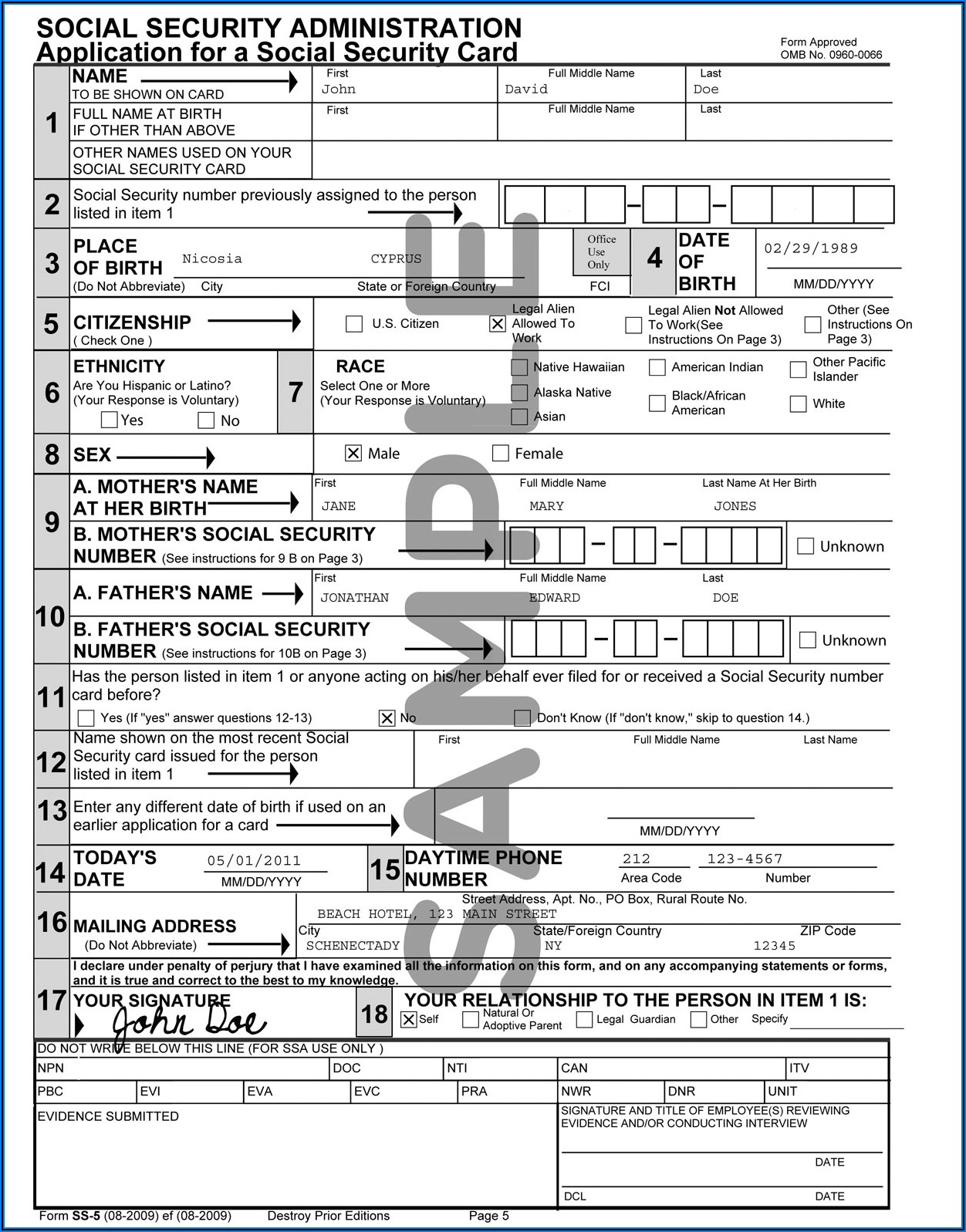 Lost Social Security W2 Form