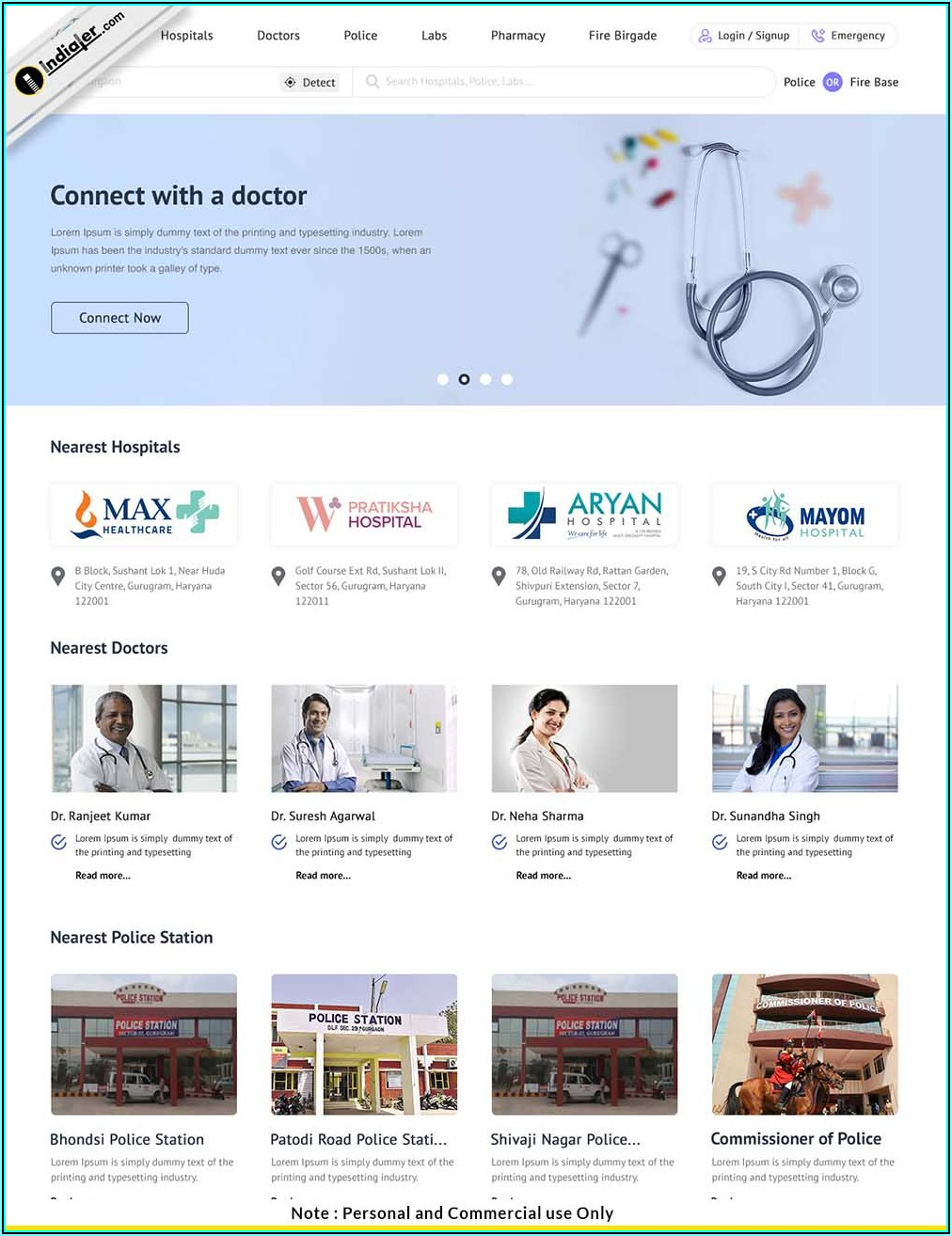 Medical Website Templates Free Download