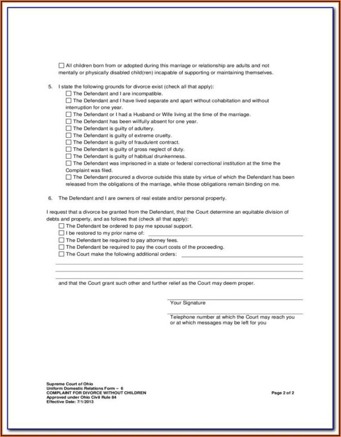 Montgomery County Tn Divorce Forms