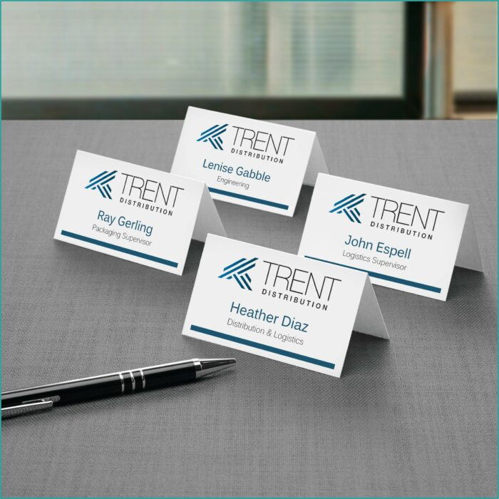 Office Depot Medium Tent Cards Template