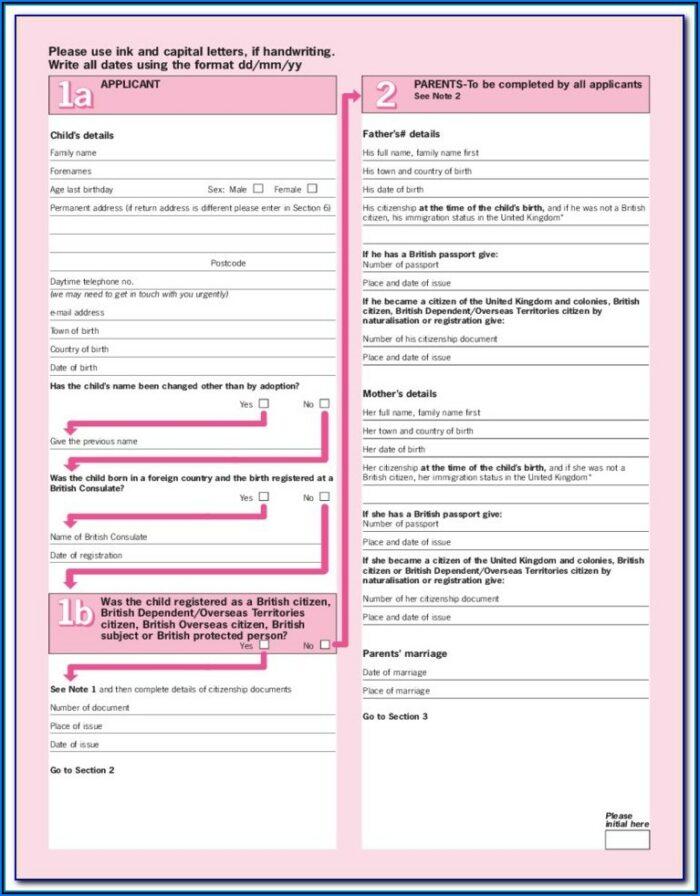 Passport Forms Renewal Trinidad