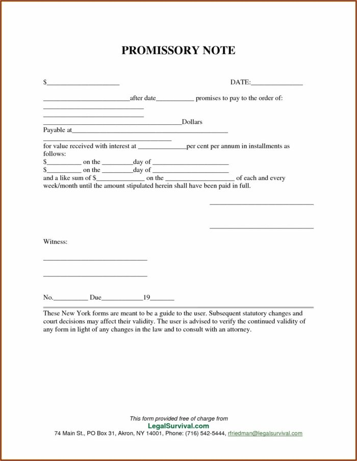 Promissory Note Format In Telugu