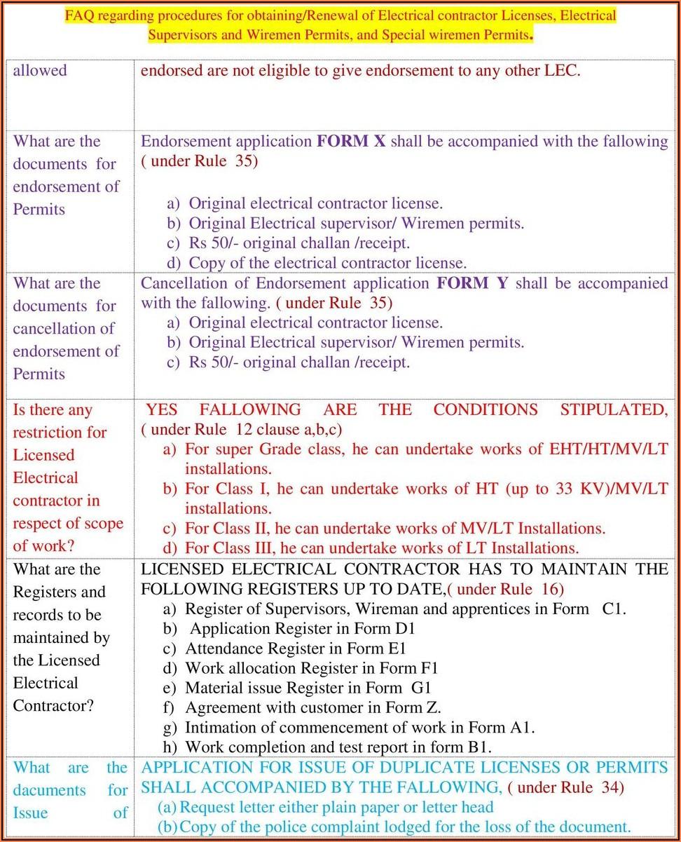 Pwd Contractor Registration Form Karnataka