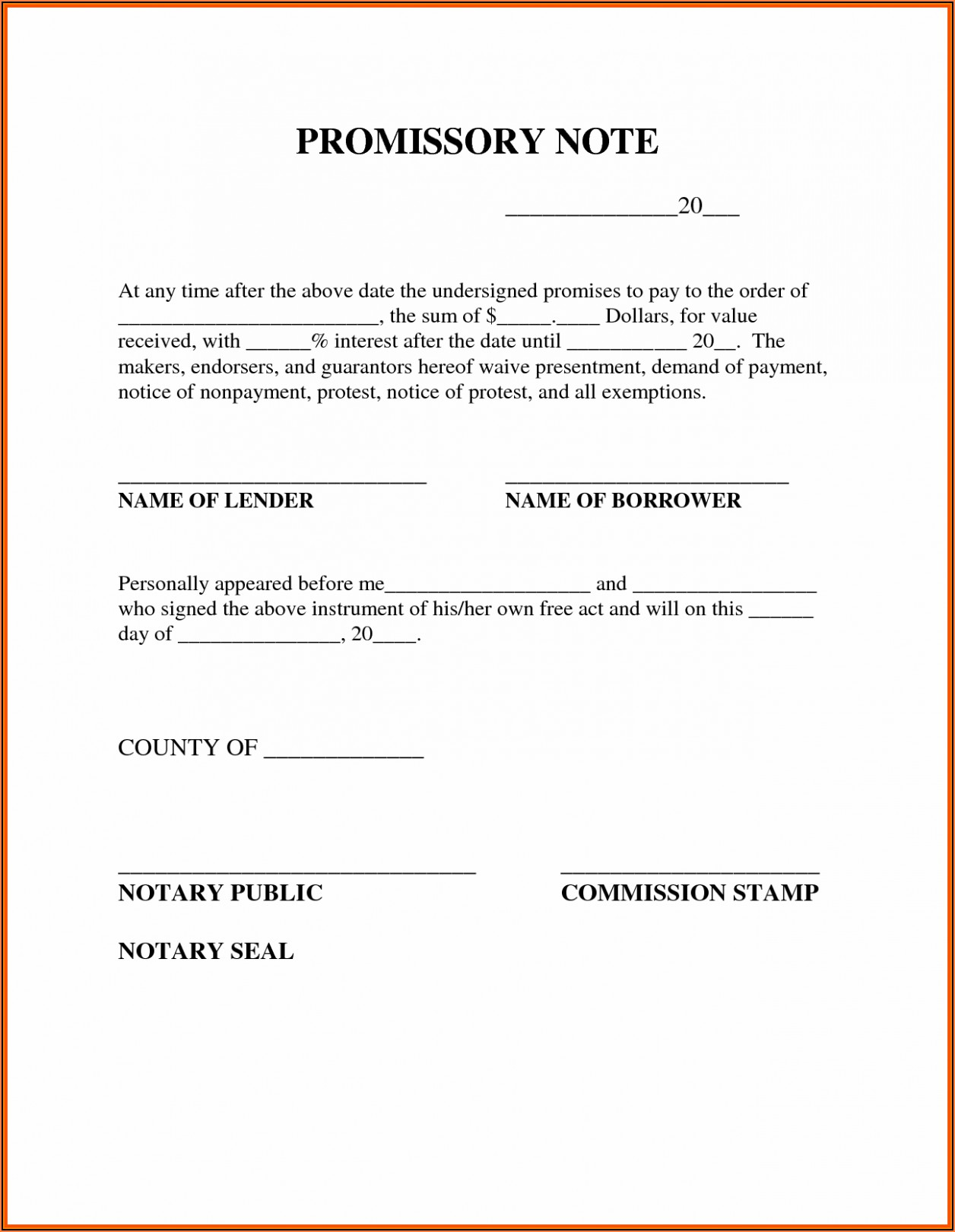 Sample Format Promissory Note Philippines