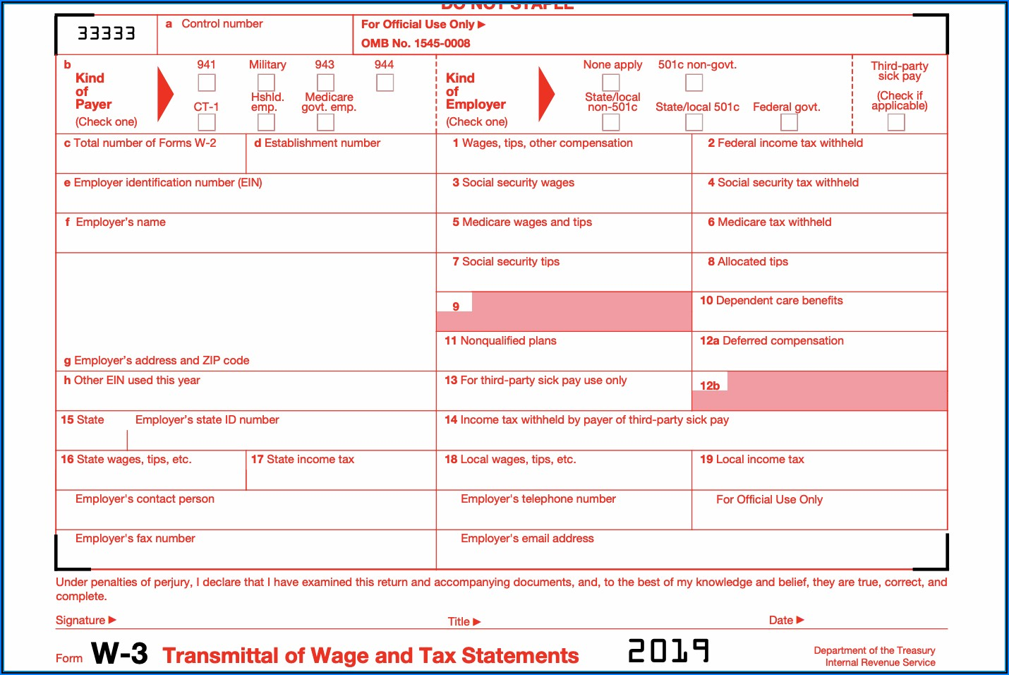 Social Security Administration W2 Forms