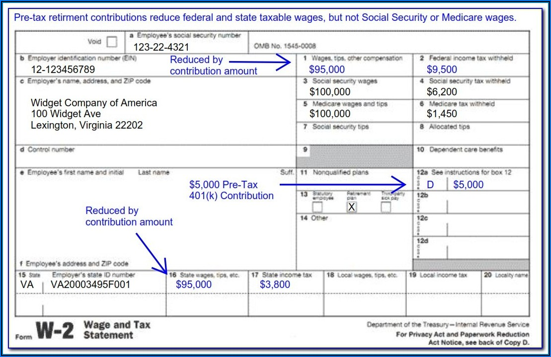 Social Security W2 Forms