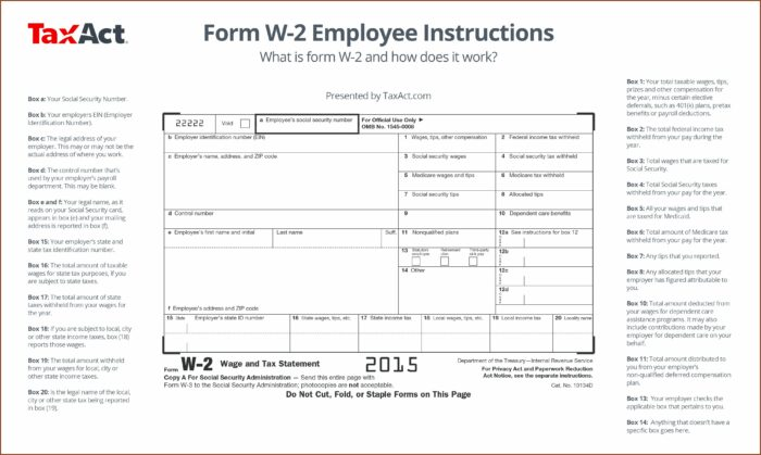 W2 Form Wages Tips Other Compensation