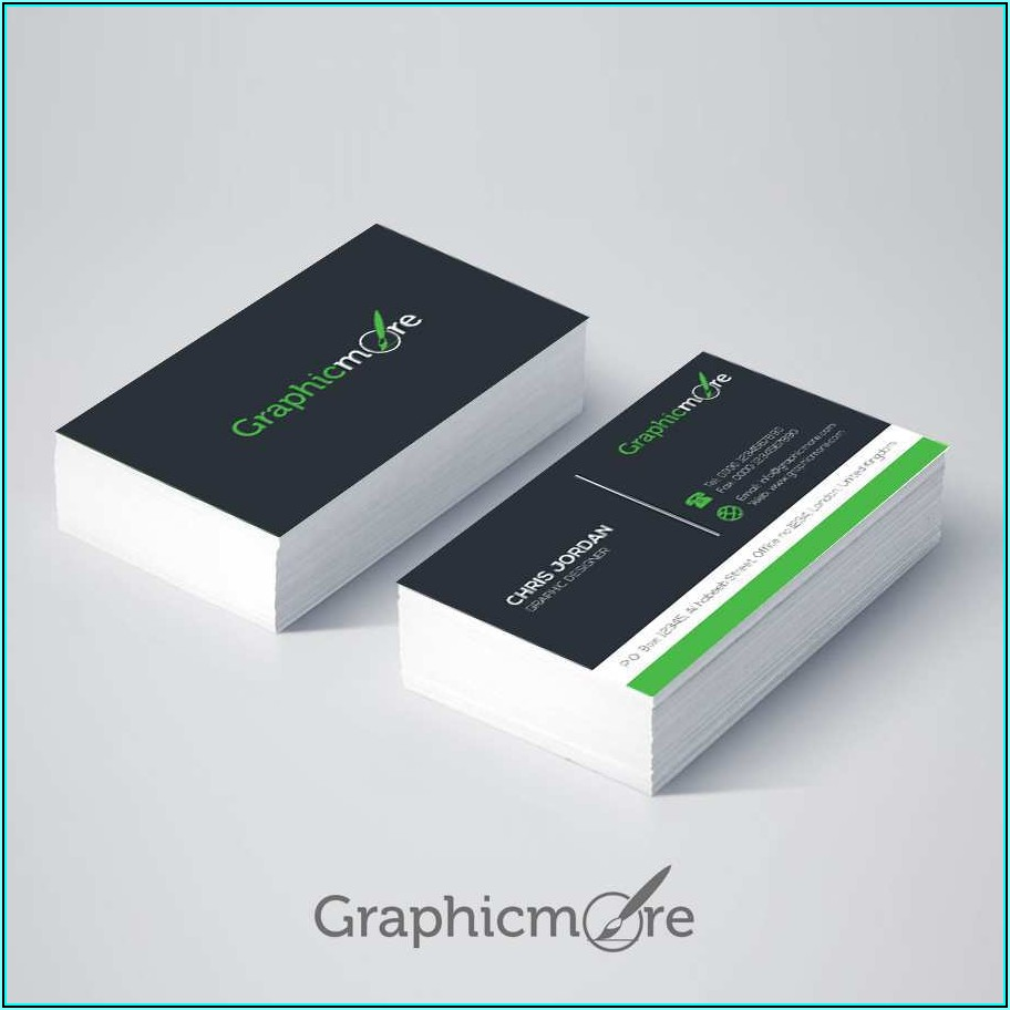 Business Card Template Ai File Free Download