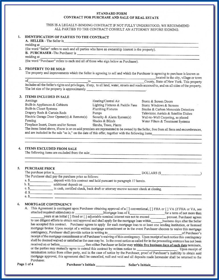 Florida Real Estate Contract Cancellation Form