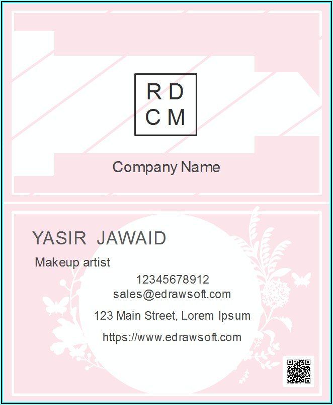 Free Cute Business Card Templates