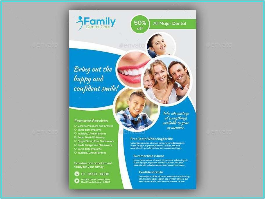 Free Dental Flyer Templates