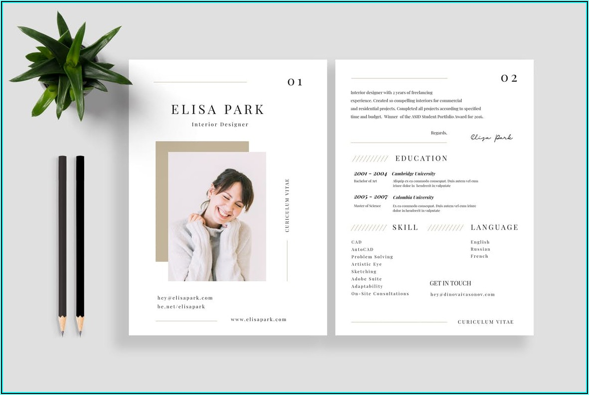 Highly Recommended Resume Templates