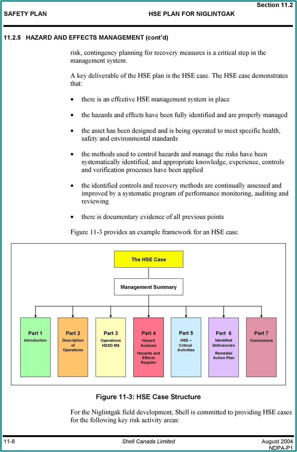 Hse Management System Manual Template
