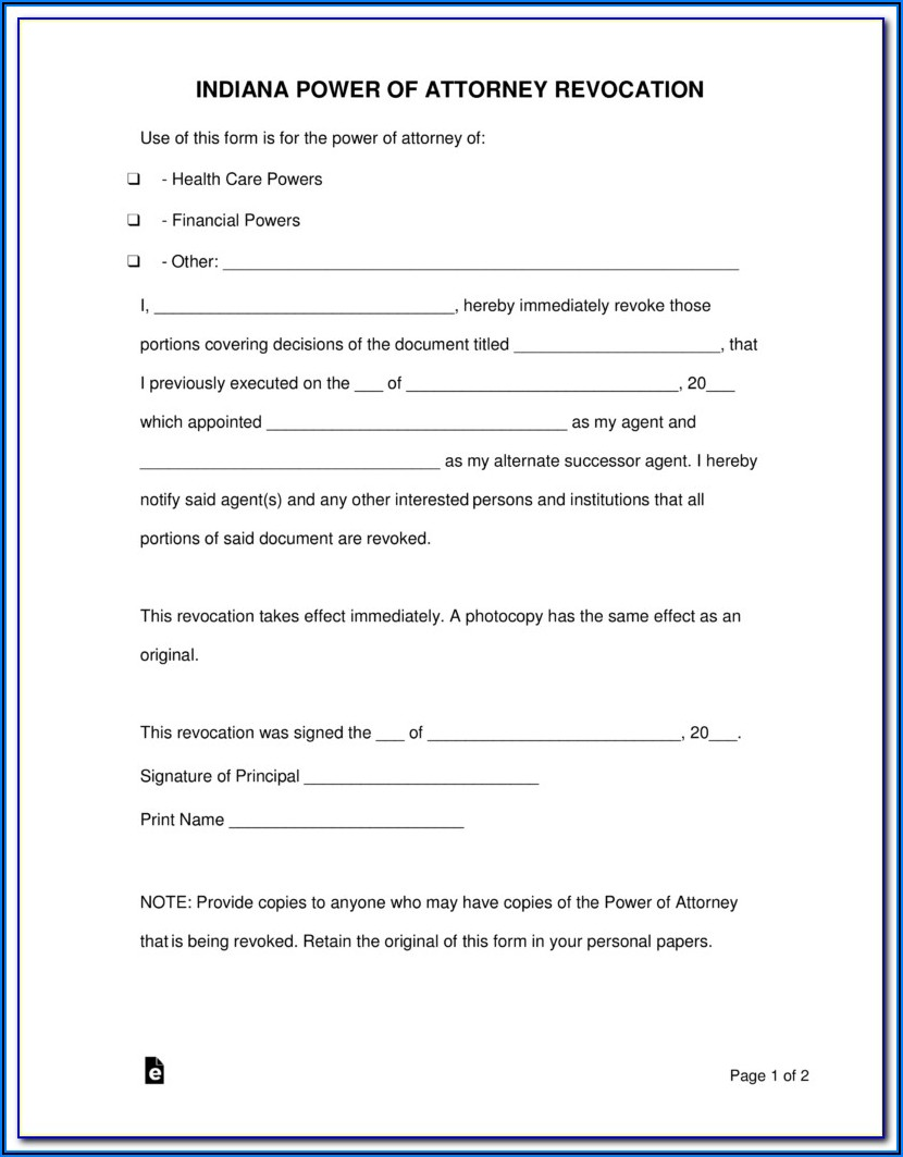 Texas Medical Power Of Attorney Forms To Print