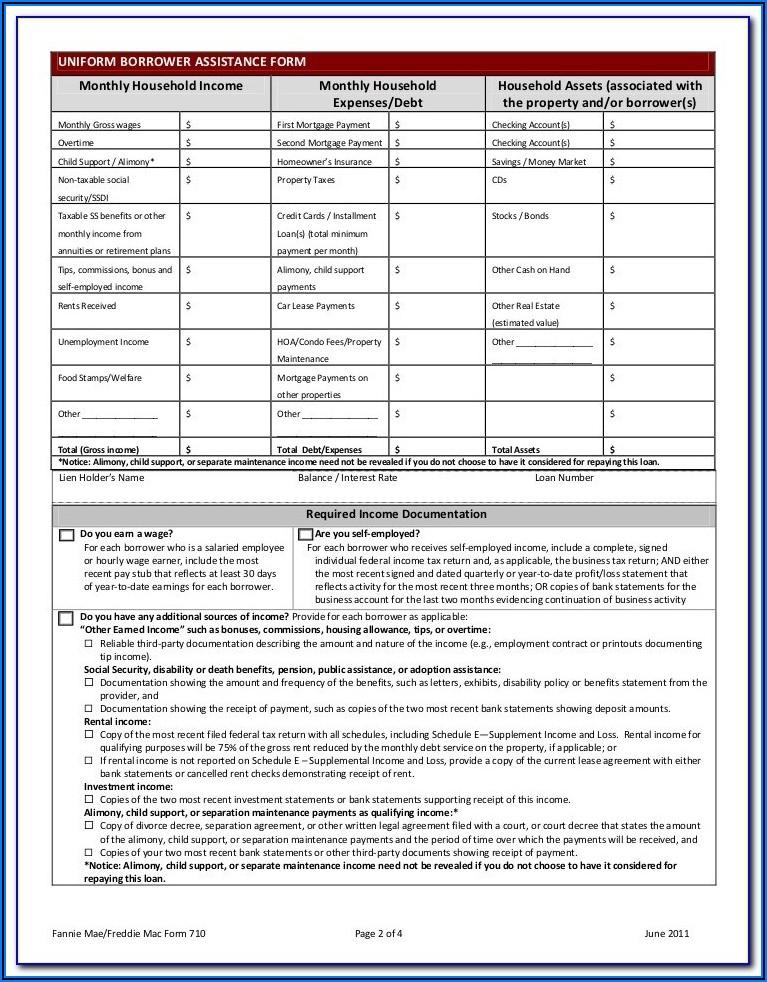 Wells Fargo Home Preservation Forms