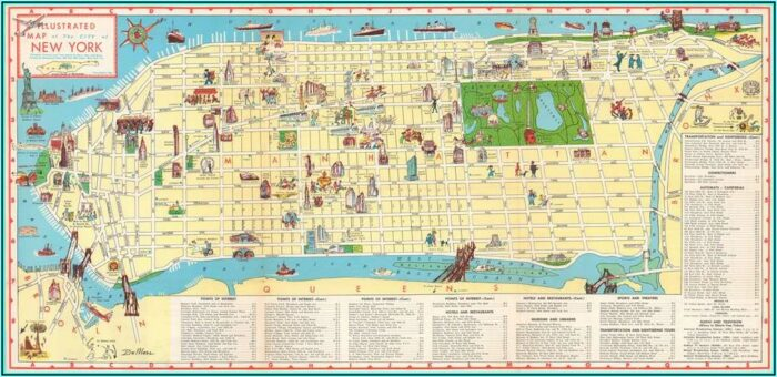 Antique Map Dealers Nyc