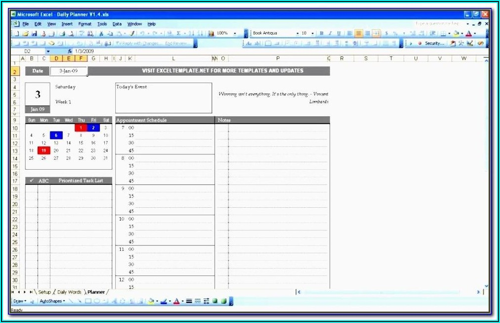 Audit Lead Schedule Template Excel