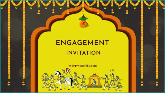 Engagement Invitation Video Maker Free Download