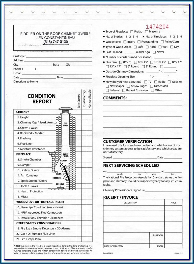 Fmcsa Inspection Form