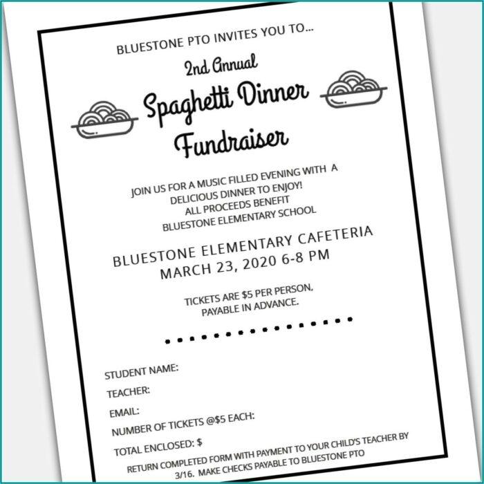 Free Dinner Ticket Template Printable