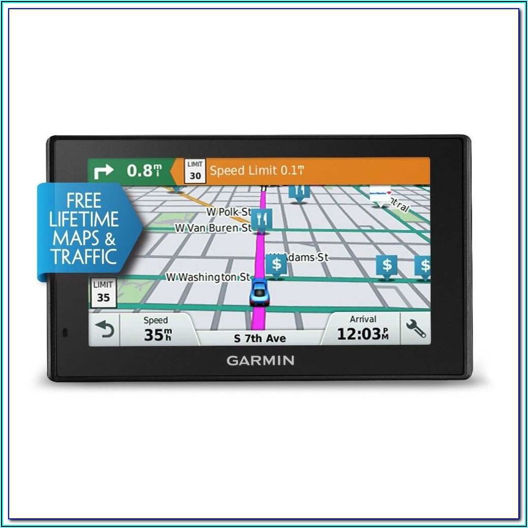 Garmin Gps With Lifetime Maps And Traffic