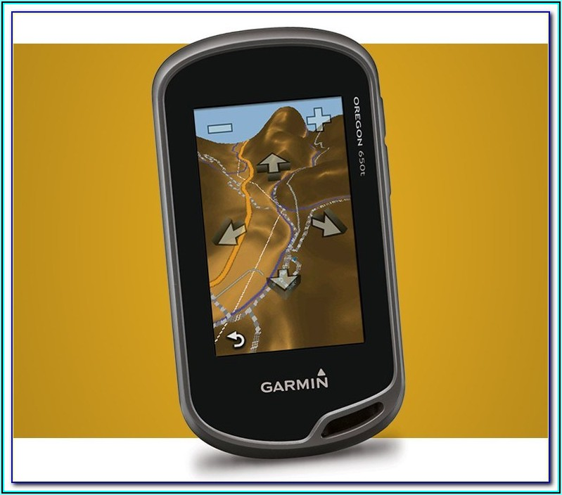 Garmin Oregon 650t Lake Maps