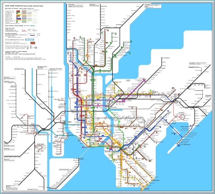 Google Subway Map New York City