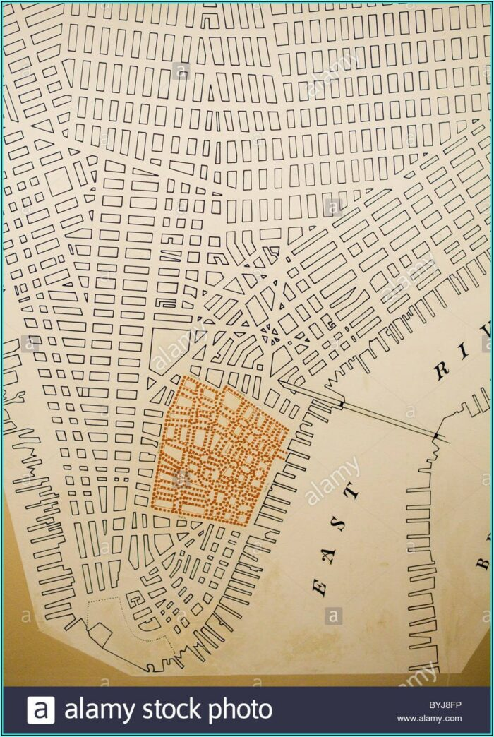 Grid Map Of Manhattan