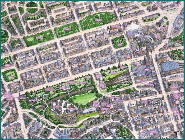 Historical Map Of Scotland Jigsaw