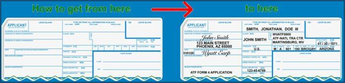 How To Fill Standard Fingerprint Form (fd 258)