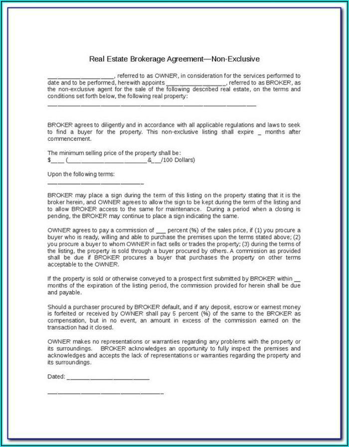 Insurance Broker Fee Agreement Form