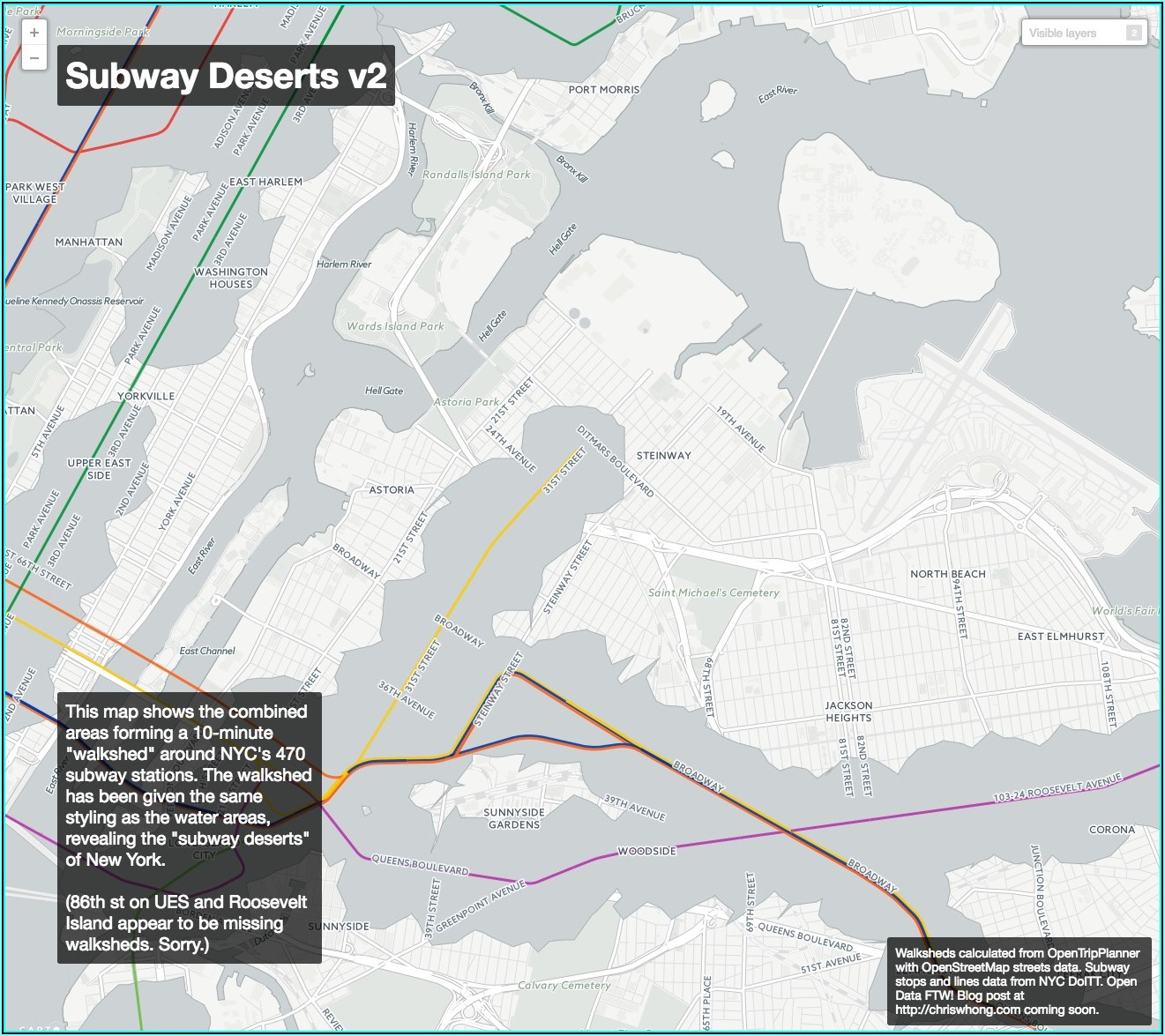 Interactive Subway Map New York City