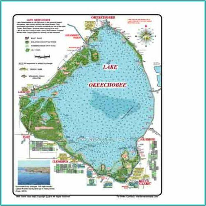 Lake Okeechobee Maps Fishing
