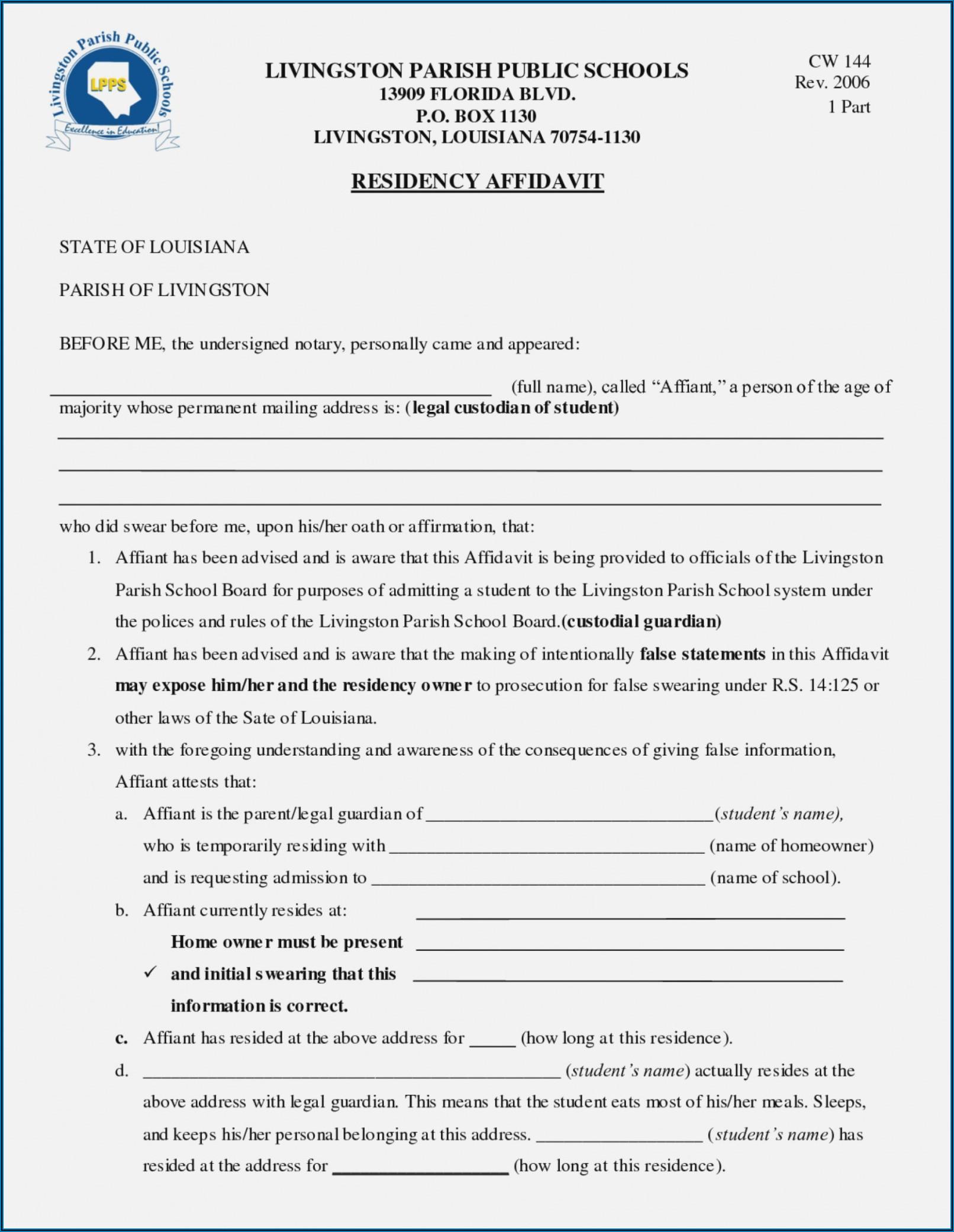 Legal Guardianship Forms Florida