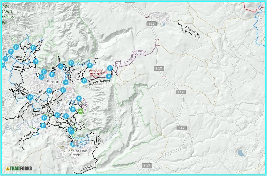 Mountain Bike Trail Maps Sedona Az