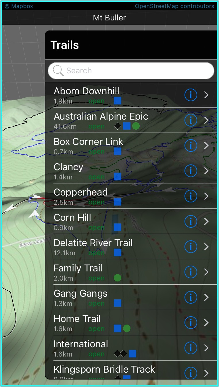 Mtb Trail Maps