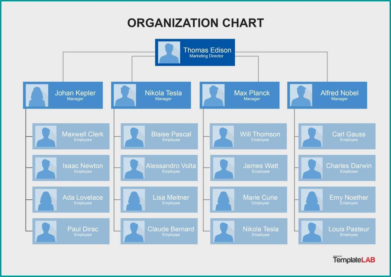 Org Chart Template Free