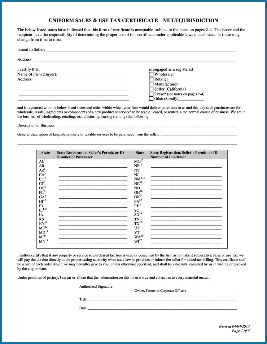 South Carolina State Income Tax Exemption Form
