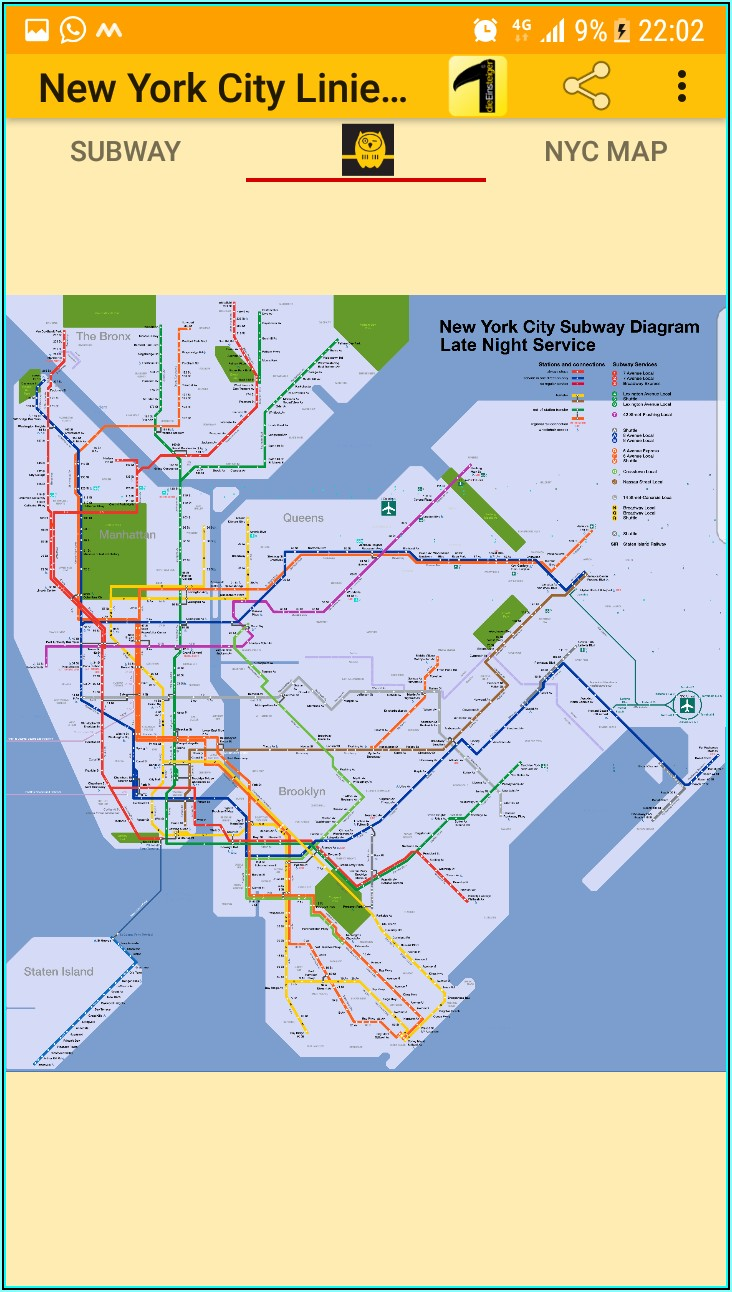 Subway Maps New York City