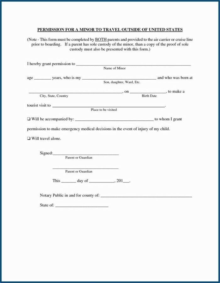 Temporary Guardianship Paperwork Texas