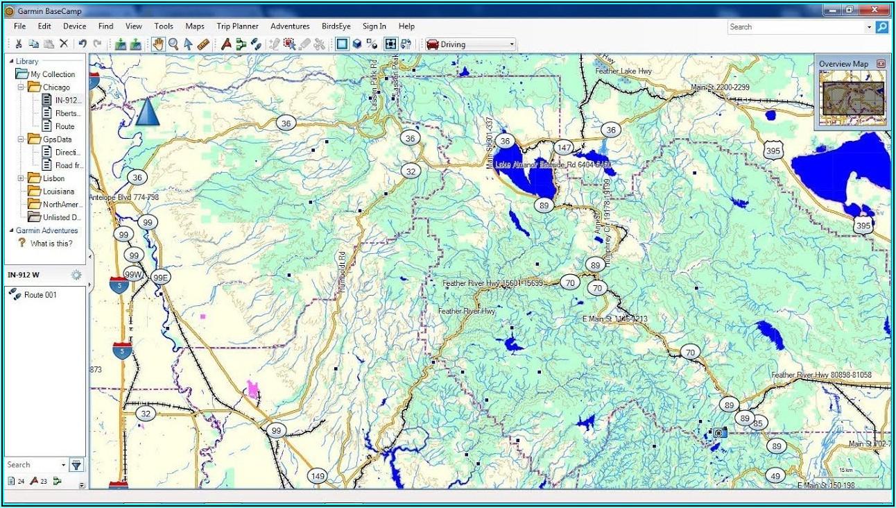 Topo Map For Garmin Basecamp