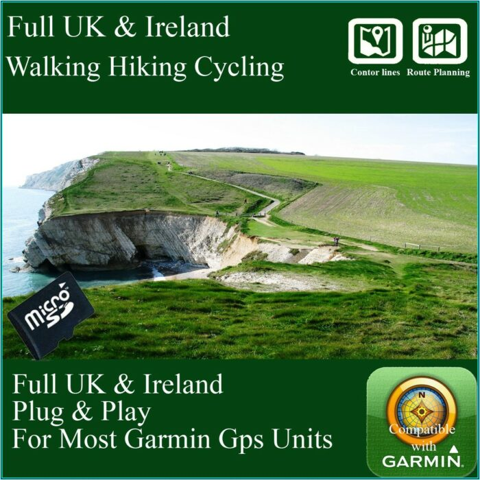 Topo Map For Garmin Etrex 20