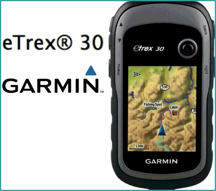 Topo Map For Garmin Etrex 30x