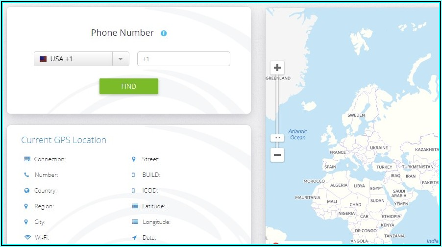 Trace Mobile Number Satellite Map