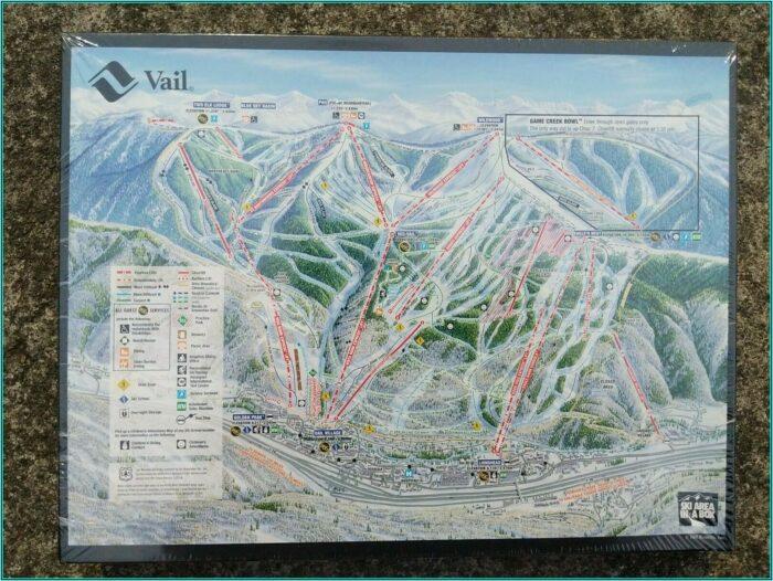 Vail Ski Map Puzzle