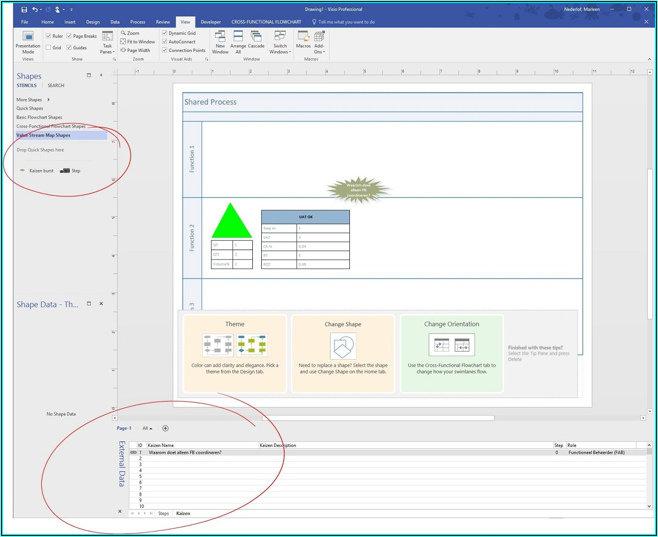 Visio Value Stream Map Shapes